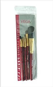 Vega Set of 5 Brush (Colors May Vary)
