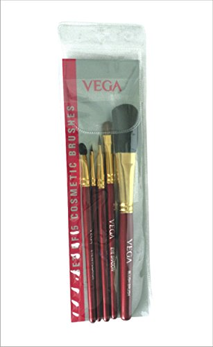 Vega Set of 5 Brush (Colors May Vary)
