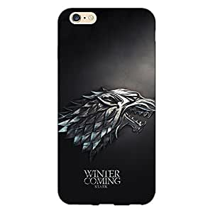 Jugaaduu Game Of Thrones GOT House Stark Back Cover Case For Apple iPhone 6 Plus
