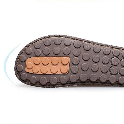 LXXAMens Estate Spiaggia Peso Leggero Facile Fissare Sandalo Maschio Pantofola Scarpe Da Esterno Due Utilizzi Black