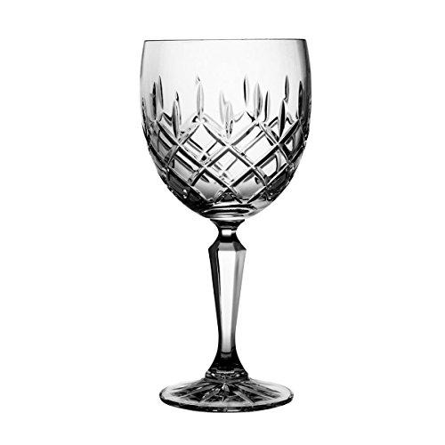 Crystaljulia 3842 Weinglas, Kristall, 275 ml, 8 x 8 x 18 cm, 6 Einheiten