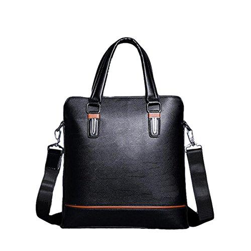 Männer Messenger Bag Umhängetasche Bundle Computer Taschen Business Taschen Aktenkoffer Lift Handtasche Casual Fashion Black2
