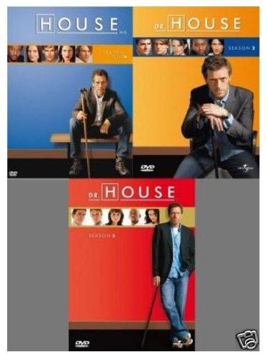 Dr. House - Staffel/Season 1-3 Set (18 DVDs)