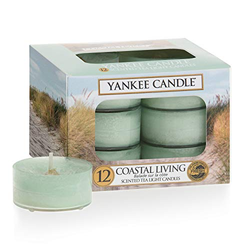 Yankee candle candele per la luce del tè, vita costiera