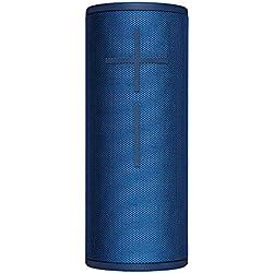 Ultimate Ears BOOM 3 Enceinte Bluetooth sans fil (son audacieux + basses intenses, Bluetooth, bouton magique, étanche, longévité de batterie de 15 heures, portée de 45 m) - Bleu