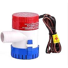 SAILFLO BOMBA DE ACHIQUE SUMERGIBLES 1100gph 12VDC regla bomba de agua para barco RV casas de motor casa flotante