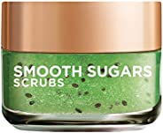 L'Oreal Paris Smooth Sugar Scrubs with Kiwi Seeds to Reduce Blackheads, 50ml