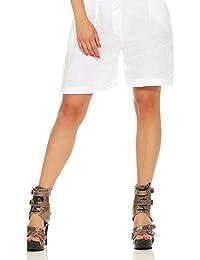 819651fa54f30 Amazon.es  Cinturón - Pantalones cortos   Mujer  Ropa