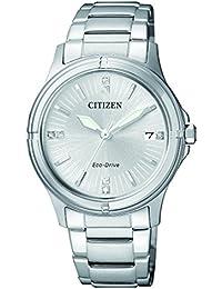 Citizen Damen-Armbanduhr Analog Quarz Edelstahl FE6050-55A