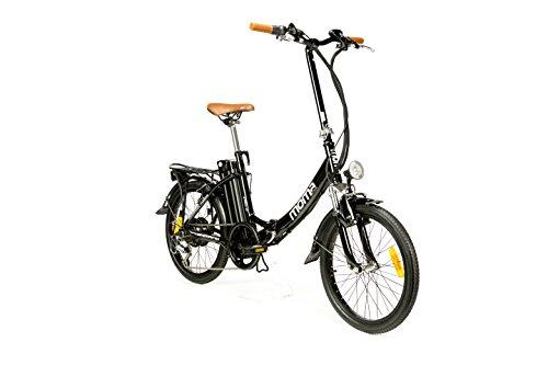 Moma Bikes Vélo Electrique VAE Pliant De ville, E-20', Aluminium, SHIMANO 7V, Bat. Ion Lithium 36V 16Ah