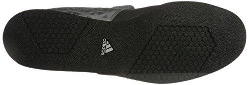 adidas Powerlift.3, Scarpe Sportive Indoor Uomo Grigio (Cblack/Silvmt/Ironmt)
