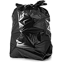 SuperFox Premium Super Strong 50+ Micron Biodegradable Black Garbage Bags/Dustbin Bags (Best for Hospitals) - Small…