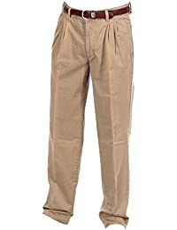 Pioneer Herrenhose / Männer Hose 1163 Regular Fit 0343 23 mit Gürtel - Beige