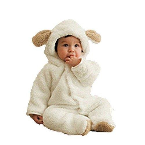 Arrowhunt Baby Unisex Winter Overalls mit Bärenohren Kapuzen
