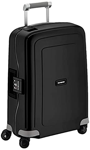 Samsonite Bagage Cabine S'cure Spinner - 55X40X20 , 34 L ,Noir