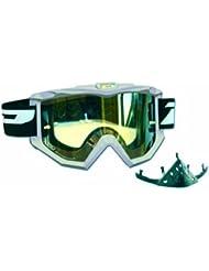 Progrip Motocross Brille Raceline - Cristal de repuesto para máscara de paintball, color plateado