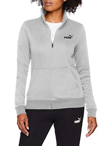 Puma Damen ESS Track Jacket FL Jacke, Light Gray Heather, M Essential Track Jacket