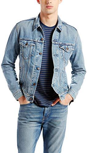 Levis ® Trucker Jacket Standard Fit Herren Jacke Jeansjacke 723340146 ICY XXS | 05415212182140