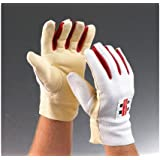 GRAY-NICOLLS Chamois Padded Wicket Keeping Inner Gloves, Mens