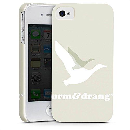 Apple iPhone X Silikon Hülle Case Schutzhülle Vogel Fliegen Sturm & Drang Premium Case glänzend