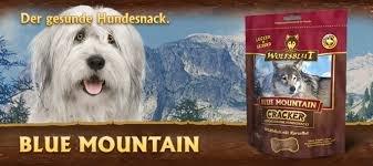 4 x 225g Wolfsblut Blue Mountain Cracker mit Wildfleisch (min. 20 %), (Cranberry-und Traubenkernextrakt)