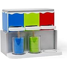MaMaMeMo Disvaltoys Slush Ice - Máquina de granizados de Juguete en Madera - 3 sabores 24