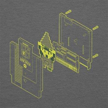 TEXLAB - The legendary Hero in a Cartridge - Herren T-Shirt Grau