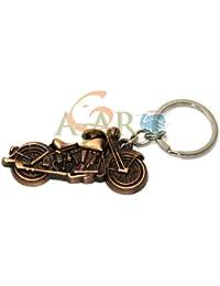 Atargoods New Bullet Key Chain Royal Enfield Bike Model Metal Keychain+ (1pc Free Gift)