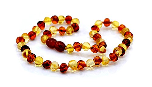 Baltic Amber Necklace Length – 32 – 33 (cm) 41x uXs0C6L