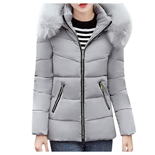 ➤Refill➤ Damen Winter Jacke warm gefüttert Teddyfell Stepp Winterjacke Damen Übergangsjacke Steppjacke Winter Parka Mantel warm Kunstfell
