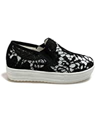 Colors of California Laceup6k-Bis filles, toile, sneaker slip on