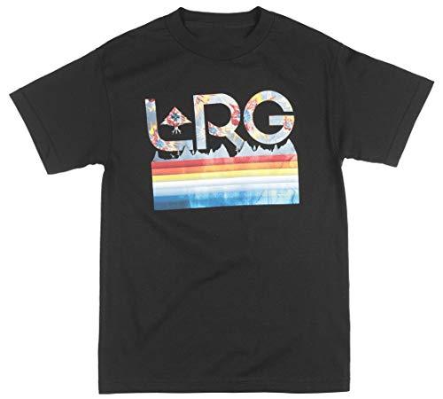 Lrg Color Explosion Regular Fit Big and Tall Shirt Streetwear Tee Top Mens Black -