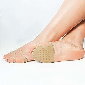 Cuscinetto invisibile per avampiede, color carne, per scarpe a tacco alto