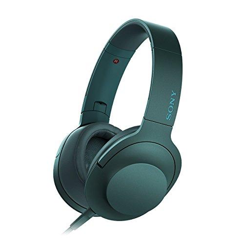 Sony MDR-100ABN Cuffie Over-Ear Wireless con Eliminazione Digitale del Rumore, Hi-Res Audio, Driver HD da 40 mm, Design Pieghevole, Bluetooth, NFC, Nero