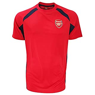 Arsenal F.C. Herren Arsenal Training t-Shirt-Navy/rot, Medium, Herren, Marineblau/rot, XL
