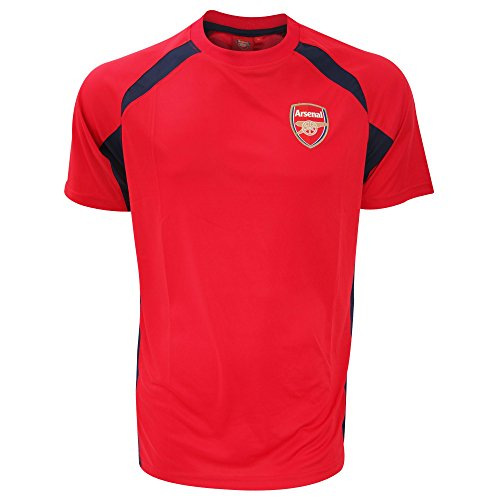 Arsenal F.C. Herren Arsenal Training t-Shirt-Navy/Rot, Medium Medium Marineblau/Rot (Training Shirt Arsenal)