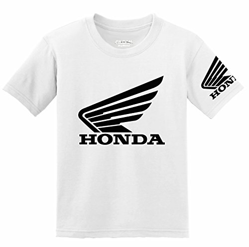 Preisvergleich Produktbild Honda Goldwing Logo with Sleeve T-Shirt,  Large White