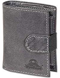 d6be595513 Woodland - portafoglio super-compatto con XXL tasche carte di credito per  18 carte fatte