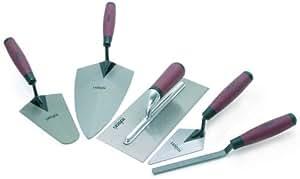 Rolson 52489 Tradesman Trowel Set - 5 Pieces