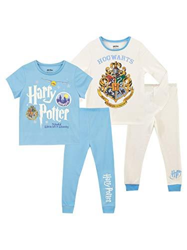 Harry Potter Pijamas para Niñas 2 Paquetes Hogwarts 12-13 Años