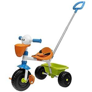 41x0%2B8AR tL. SS300 Chicco Triciclo Bambini Pellicano, Triciclo Bimba e Bimbo con Maniglione ad Altezza Regolabile, Cinture di Sicurezza e…