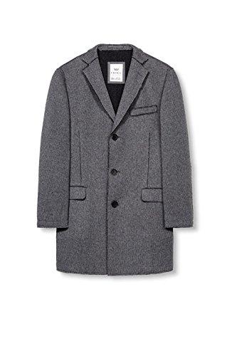 ESPRIT Collection Herren Mantel Grau (Dark Grey 020)