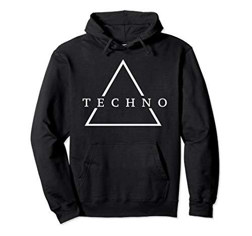 Techno Dreieck - Techno Festival, Dark Techno, Minimal Pullover Hoodie