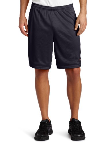 Champion Herren Long Mesh Short with Pockets - Blau - Mittel -