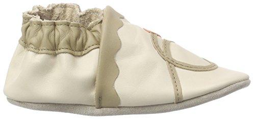 Robeez Glory, Chaussures de Naissance Bébé Garçon Beige (Beige Clair)