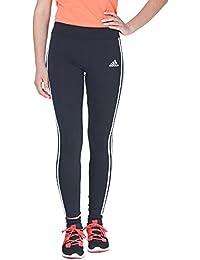 adidas Mädchen Yg Gear Up 3-Streifen Tights