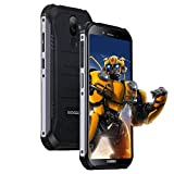 Rugged Smartphone In Offerta, DOOGEE S40 LITE Android 9.0 Cellulare Outdoor Dual SIM 2GB+16GB, IP68/IP69K Impermeabile 5,5 Pollici, 4680mAh, 8MP+5MP Fotocamera, Impronta Digitale Faccia ID, Nero