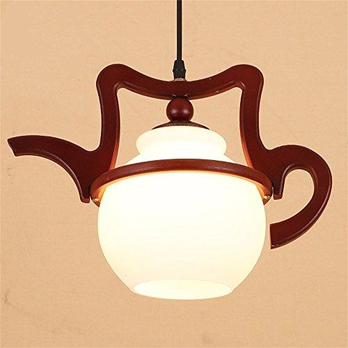 LightSei- Chinesisch modernen minimalistischen Kronleuchter kleinen südostasiatischen kreativen Teekessel Balkon Gang-Beleuchtung einzigen Kopf Kronleuchter