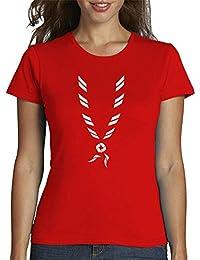 latostadora - Camiseta Paoleta Chica para Mujer