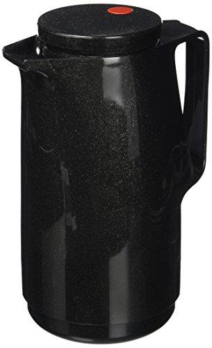 """Rotpunkt Isolierkanne 760\"""" 1,0l in schwarz, Edelstahl, 20 x 10 x 10 cm"""